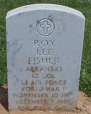 FISHER (VETERAN WWII), ROY LEE - Pulaski County, Arkansas | ROY LEE FISHER (VETERAN WWII) - Arkansas Gravestone Photos