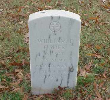 FISHER (VETERAN WWII), WILLIAM F - Pulaski County, Arkansas | WILLIAM F FISHER (VETERAN WWII) - Arkansas Gravestone Photos
