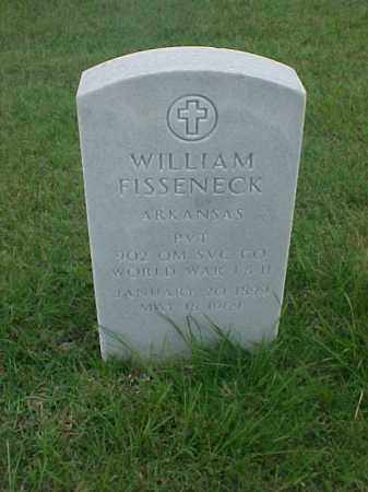 FISSENECK (VETERAN 2 WARS), WILLIAM - Pulaski County, Arkansas | WILLIAM FISSENECK (VETERAN 2 WARS) - Arkansas Gravestone Photos
