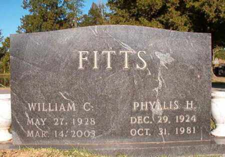 FITTS, PHYLLIS H - Pulaski County, Arkansas | PHYLLIS H FITTS - Arkansas Gravestone Photos