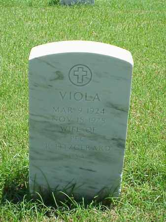 FITZGERALD, VIOLA - Pulaski County, Arkansas | VIOLA FITZGERALD - Arkansas Gravestone Photos