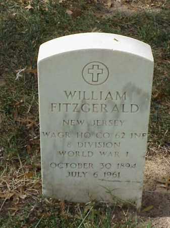 FITZGERALD (VETERAN WWI), WILLIAM - Pulaski County, Arkansas | WILLIAM FITZGERALD (VETERAN WWI) - Arkansas Gravestone Photos