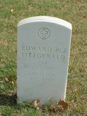 FITZGERALD (VETERAN WWII), EDWARD P J - Pulaski County, Arkansas | EDWARD P J FITZGERALD (VETERAN WWII) - Arkansas Gravestone Photos