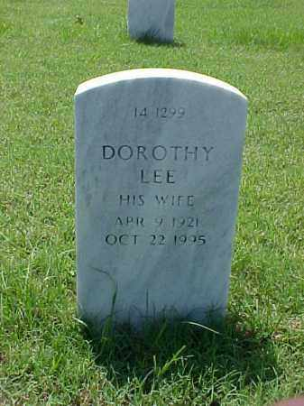 FITZGIBBON, DOROTHY LEE - Pulaski County, Arkansas | DOROTHY LEE FITZGIBBON - Arkansas Gravestone Photos
