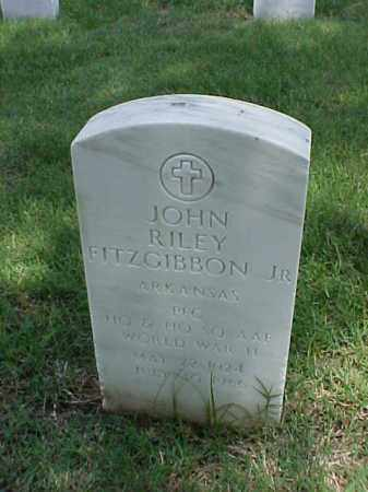 FITZGIBBON, JR (VETERAN WWII), JOHN RILEY - Pulaski County, Arkansas | JOHN RILEY FITZGIBBON, JR (VETERAN WWII) - Arkansas Gravestone Photos