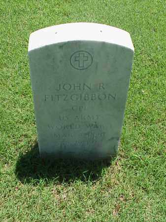 FITZGIBBON (VETERAN WWI), JOHN R - Pulaski County, Arkansas | JOHN R FITZGIBBON (VETERAN WWI) - Arkansas Gravestone Photos