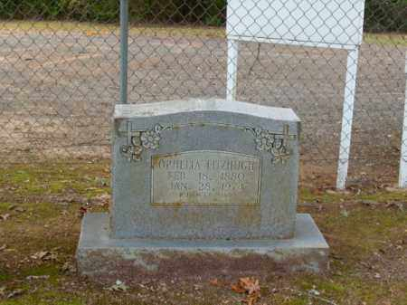 FITZHUGH, OPHELIA - Pulaski County, Arkansas | OPHELIA FITZHUGH - Arkansas Gravestone Photos