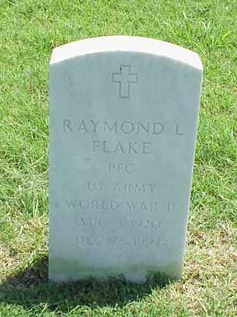 FLAKE (VETERAN WWII), RAYMOND L - Pulaski County, Arkansas | RAYMOND L FLAKE (VETERAN WWII) - Arkansas Gravestone Photos