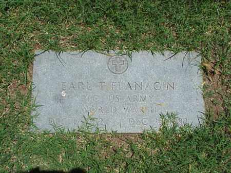 FLANAGIN (VETERAN WWII), EARL T - Pulaski County, Arkansas | EARL T FLANAGIN (VETERAN WWII) - Arkansas Gravestone Photos