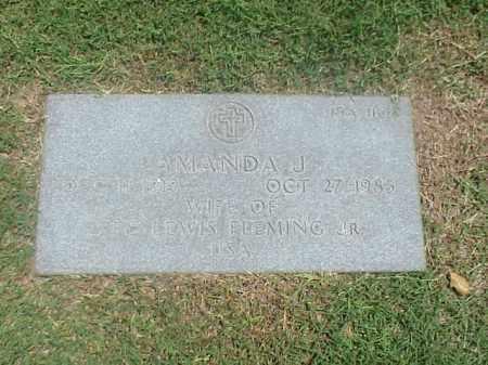FLEMING, AMANDA J - Pulaski County, Arkansas | AMANDA J FLEMING - Arkansas Gravestone Photos