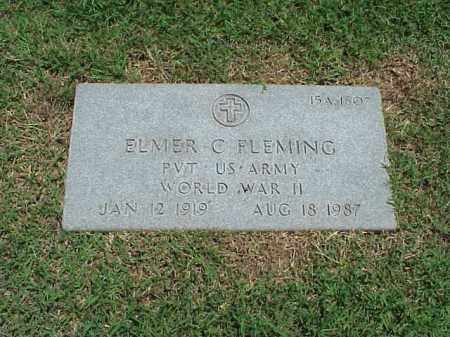 FLEMING (VETERAN WWII), ELMER C - Pulaski County, Arkansas | ELMER C FLEMING (VETERAN WWII) - Arkansas Gravestone Photos