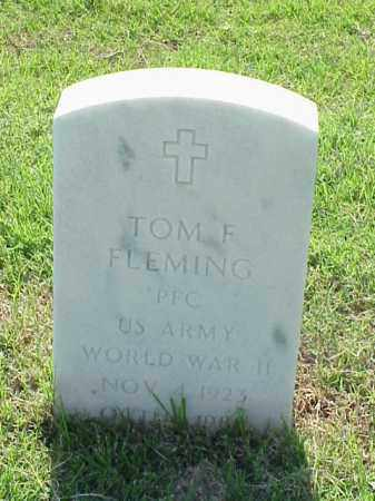 FLEMING (VETERAN WWII), TOM F - Pulaski County, Arkansas | TOM F FLEMING (VETERAN WWII) - Arkansas Gravestone Photos