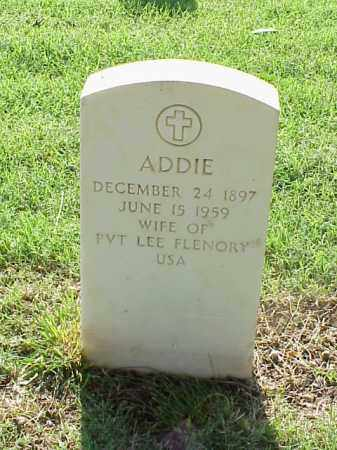 FLENORY, ADDIE - Pulaski County, Arkansas | ADDIE FLENORY - Arkansas Gravestone Photos
