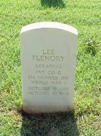 FLENORY (VETERAN WWI), LEE - Pulaski County, Arkansas | LEE FLENORY (VETERAN WWI) - Arkansas Gravestone Photos