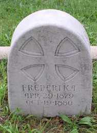 FLETCHER, FREDERIKA - Pulaski County, Arkansas | FREDERIKA FLETCHER - Arkansas Gravestone Photos