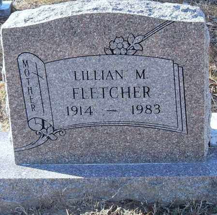 FLETCHER, LILLIAN M - Pulaski County, Arkansas | LILLIAN M FLETCHER - Arkansas Gravestone Photos