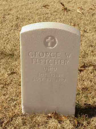 FLETCHER (VETERAN UNION), GEORGE W - Pulaski County, Arkansas | GEORGE W FLETCHER (VETERAN UNION) - Arkansas Gravestone Photos