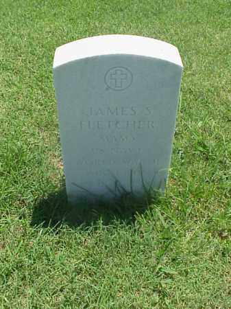 FLETCHER (VETERAN WWII), JAMES S - Pulaski County, Arkansas | JAMES S FLETCHER (VETERAN WWII) - Arkansas Gravestone Photos
