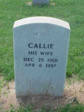 FLOYD, CALLIE - Pulaski County, Arkansas | CALLIE FLOYD - Arkansas Gravestone Photos