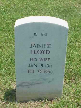 FLOYD, JANICE - Pulaski County, Arkansas | JANICE FLOYD - Arkansas Gravestone Photos