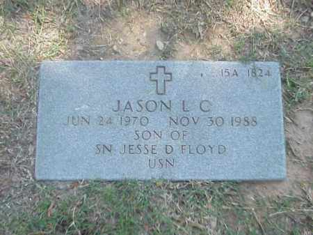FLOYD, JASON L C - Pulaski County, Arkansas | JASON L C FLOYD - Arkansas Gravestone Photos
