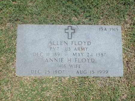 FLOYD, ANNIE H - Pulaski County, Arkansas | ANNIE H FLOYD - Arkansas Gravestone Photos
