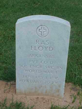 FLOYD (VETERAN WWI), RAS - Pulaski County, Arkansas | RAS FLOYD (VETERAN WWI) - Arkansas Gravestone Photos