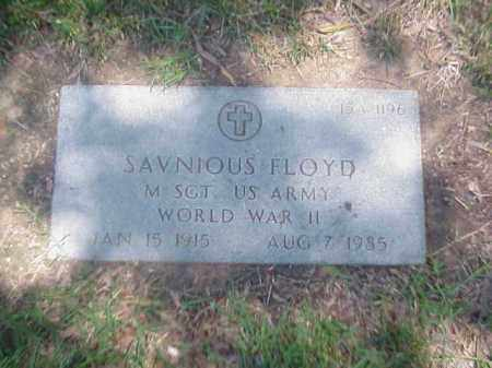 FLOYD (VETERAN WWI), SAVNIOUS - Pulaski County, Arkansas | SAVNIOUS FLOYD (VETERAN WWI) - Arkansas Gravestone Photos