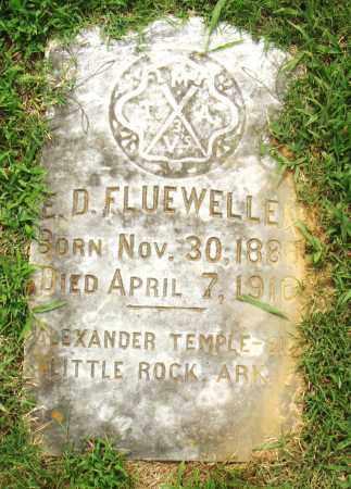 FLUEWELLE, E.D. - Pulaski County, Arkansas | E.D. FLUEWELLE - Arkansas Gravestone Photos