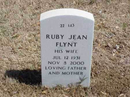 FLYNT, RUBY JEAN - Pulaski County, Arkansas | RUBY JEAN FLYNT - Arkansas Gravestone Photos