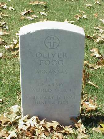 FOGG (VETERAN WWII), OLIVER - Pulaski County, Arkansas | OLIVER FOGG (VETERAN WWII) - Arkansas Gravestone Photos
