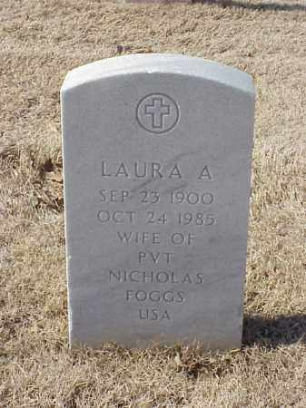 FOGGS, LAURA A - Pulaski County, Arkansas | LAURA A FOGGS - Arkansas Gravestone Photos