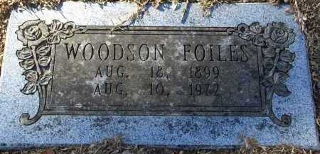 FOILES, WOODSON - Pulaski County, Arkansas | WOODSON FOILES - Arkansas Gravestone Photos
