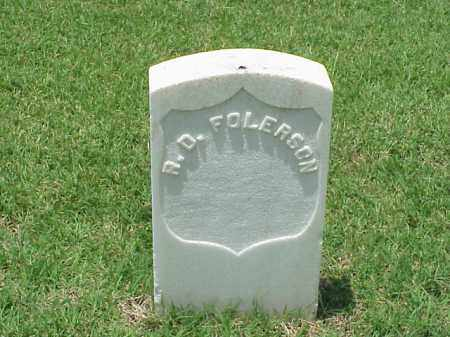 FOLERSON (VETERAN UNION), R D - Pulaski County, Arkansas | R D FOLERSON (VETERAN UNION) - Arkansas Gravestone Photos