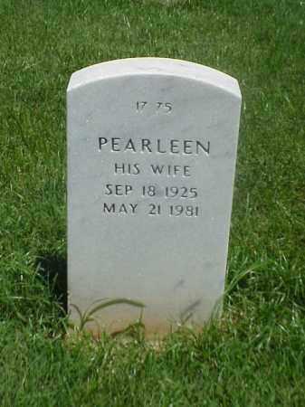FOLKS, PEARLEEN - Pulaski County, Arkansas | PEARLEEN FOLKS - Arkansas Gravestone Photos