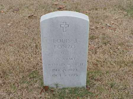 FONZO (VETERAN WWII), LOUIS J - Pulaski County, Arkansas | LOUIS J FONZO (VETERAN WWII) - Arkansas Gravestone Photos