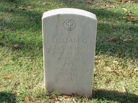 FORBES, LILLIAN G - Pulaski County, Arkansas | LILLIAN G FORBES - Arkansas Gravestone Photos