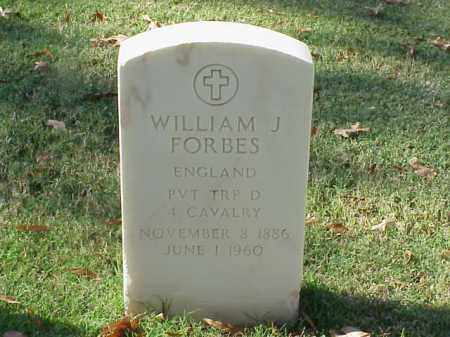 FORBES (VETERAN WWII), WILLIAM J - Pulaski County, Arkansas | WILLIAM J FORBES (VETERAN WWII) - Arkansas Gravestone Photos