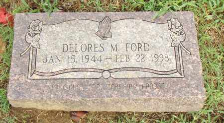 FORD, DELORES M. - Pulaski County, Arkansas | DELORES M. FORD - Arkansas Gravestone Photos