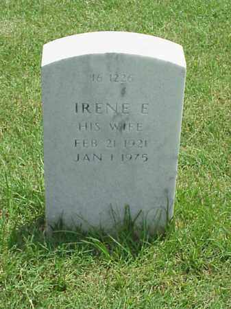 FORD, IRENE E - Pulaski County, Arkansas   IRENE E FORD - Arkansas Gravestone Photos
