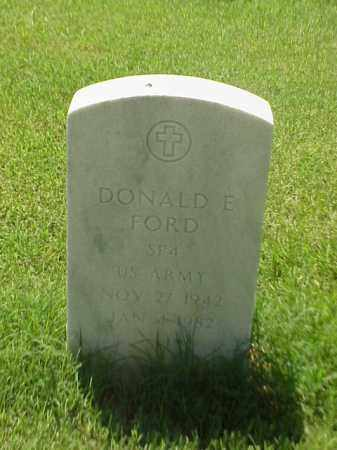 FORD (VETERAN), DONALD E - Pulaski County, Arkansas | DONALD E FORD (VETERAN) - Arkansas Gravestone Photos
