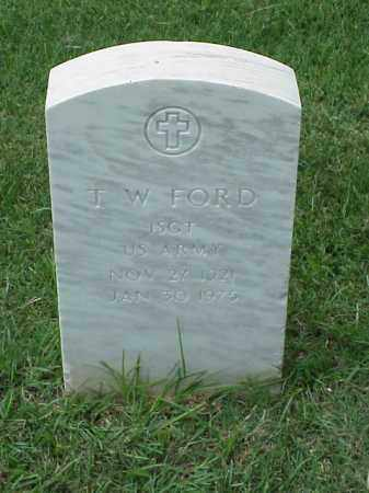 FORD (VETERAN VIET), T W - Pulaski County, Arkansas | T W FORD (VETERAN VIET) - Arkansas Gravestone Photos