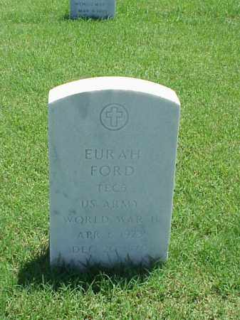 FORD (VETERAN WWII), EURAH - Pulaski County, Arkansas | EURAH FORD (VETERAN WWII) - Arkansas Gravestone Photos