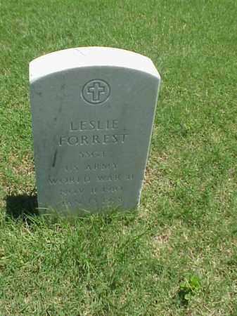 FORREST (VETERAN WWII), LESLIE - Pulaski County, Arkansas | LESLIE FORREST (VETERAN WWII) - Arkansas Gravestone Photos