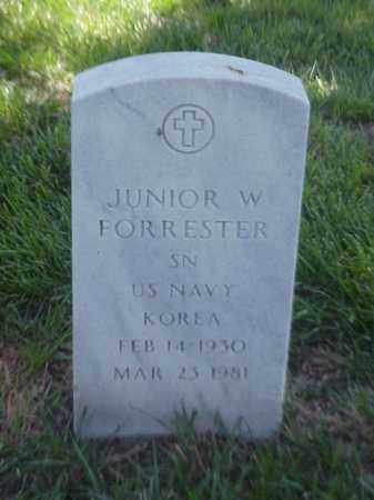 FORRESTER (VETERAN KOR), JUNIOR W - Pulaski County, Arkansas | JUNIOR W FORRESTER (VETERAN KOR) - Arkansas Gravestone Photos