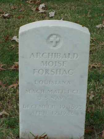FORSHAG (VETERAN), ARCHIBALD MOISE - Pulaski County, Arkansas | ARCHIBALD MOISE FORSHAG (VETERAN) - Arkansas Gravestone Photos