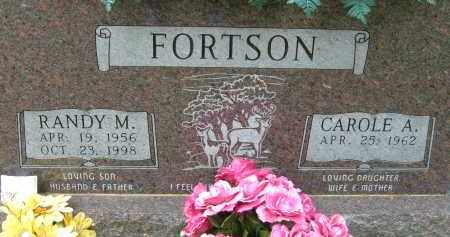 FORTSON, RANDY M. - Pulaski County, Arkansas | RANDY M. FORTSON - Arkansas Gravestone Photos