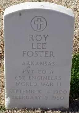 FOSTER  (VETERAN WWII), ROY LEE - Pulaski County, Arkansas | ROY LEE FOSTER  (VETERAN WWII) - Arkansas Gravestone Photos