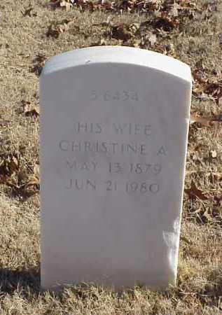 FOSTER, CHRISTINE A - Pulaski County, Arkansas | CHRISTINE A FOSTER - Arkansas Gravestone Photos