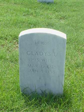 FOSTER, GLADYS U - Pulaski County, Arkansas | GLADYS U FOSTER - Arkansas Gravestone Photos